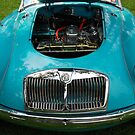 The art of the car: MGA 1600 Mk II (1958) by John Schneider