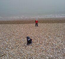 Little beachcombers by helenkemp
