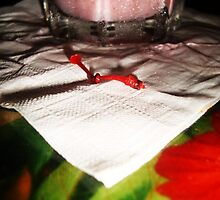 cherry stem  by Kelly Foster