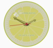 THE LEMON WATCH by Ruy Domingues