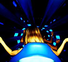 Keep hands, arms, and legs inside the roller coaster car at all times. by Kelly Foster