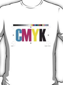 CMYK (White) T-Shirt