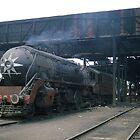 WP/P-7200 Locomotive. Delhi Railway Workshop. by Peter Stephenson