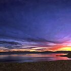 Tahoe Winter Sunset by Larry Darnell