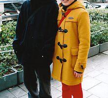 Shibuya, Tokyo street fashion - duffel coat by bellakatz