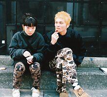 Shibuya, Tokyo street style - military chic by bellakatz