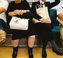 Tokyo trains - petticoat sleep by bellakatz