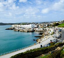Plymouth Hoe Seafront View by DonDavisUK