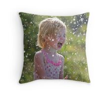 Lily at Il Ngwesi Throw Pillow