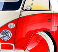 VW Splitty Pick-Up (Custom A) Sticker