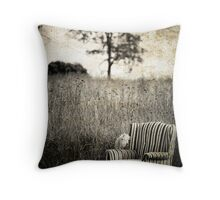 Portrait Of A Chair Throw Pillow