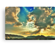 Colors of Evening Sky Canvas Print