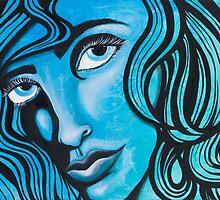 Blue Lady by Cerah