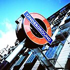 The London Underground by KeironHillhouse