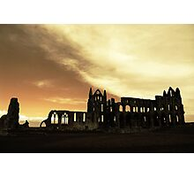 the abbey on the hill Photographic Print