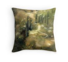 into the wood  * special order prints: tokikoandersonart@gmail.com Throw Pillow