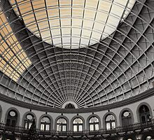 this majestical roof fretted with golden fire by Graham Rhodes