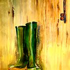 Still Life with  Wellingtons by © Janis Zroback