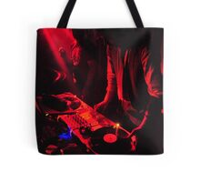 Red DJ's Tote Bag