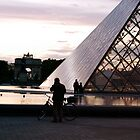 Bicycles at the Louvre by AuroraImages