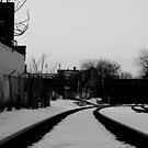 Snowy Rails by NJC Photography