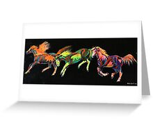 Spirit Ponies Greeting Card