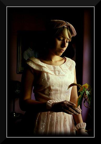 Zoe Vintage Bridesmaid 001 by Allan  King