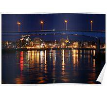 Harbour Bridge Over Saint John Poster