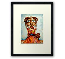 Sweet Rosie Framed Print