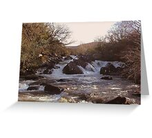 Ripping River Gap of Dunloe Co Kerry Ireland Greeting Card