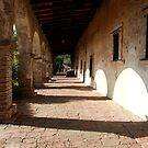 Old Mission San Juan Capistrano by Anne-Marie Bokslag