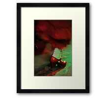 Flamenco flowing Framed Print