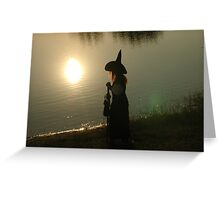 Shadow Witch Greeting Card
