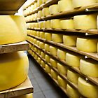 Cheese drying by mrfotos