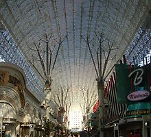 Fremont Street by Day by veda