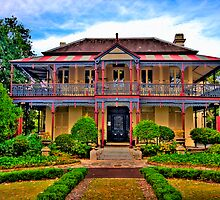 Boronia House c1885 - Mosman NSW - The HDR Experience by Philip Johnson