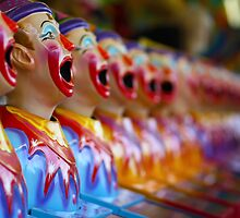 Sideshow Clowns by Naomi Frost