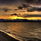 South Lake Tahoe Sunset by Will Talley