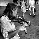 Philadelphia Fiddler by Amy E. McCormick