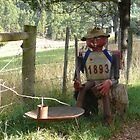 Bushman letterbox by Josie Jackson
