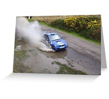 Rally of the Lakes Killarney Co. Kerry Ireland Greeting Card