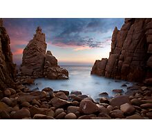 Dusk at the Pinnacles Photographic Print