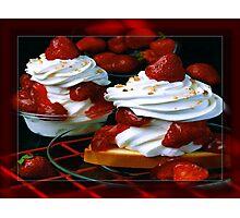 Strawberry Shortcake Photographic Print