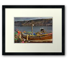 Runswick Bay - North Yorkshire #2 Framed Print