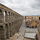 Aqueduct in Segovia by Chad Matthew Carlson
