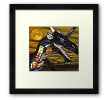Portrait of a Dragon Framed Print
