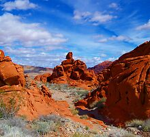 Valley Of Fire State Park, Nevada by Eleu Tabares