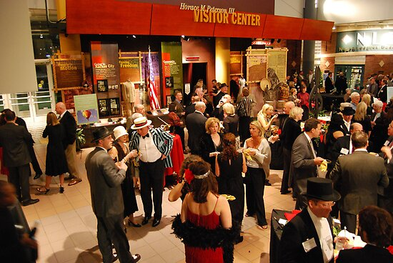 Jazz at the Gem -- a Roaring Twenties party at the American Jazz Museum in Kansas City by Catherine Sherman