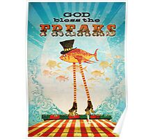 God Bless the Freaks Poster