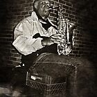 Sax Man by djrockout